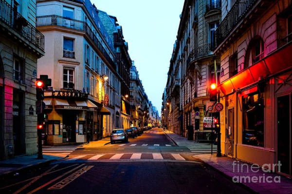 Photograph - Paris Street by M G Whittingham