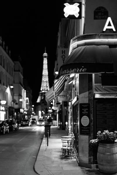 Wall Art - Photograph - Paris Streets By Night by Melanie Alexandra Price