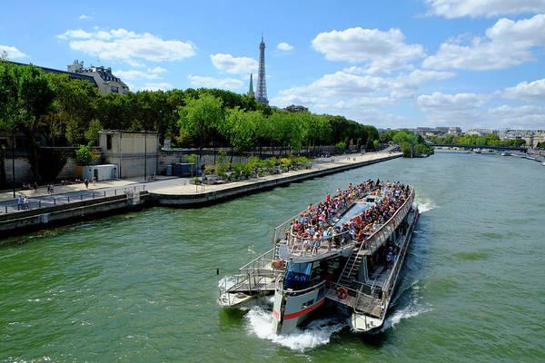 Photograph - Paris Tourist Flow by August Timmermans