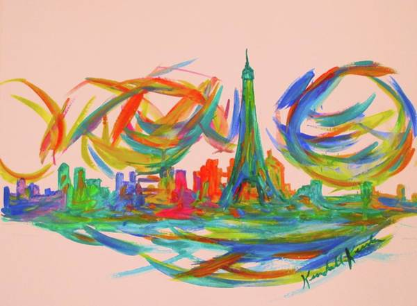Painting - Paris Twist by Kendall Kessler