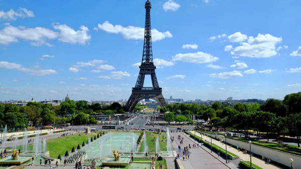 Photograph - Paris Wide by August Timmermans