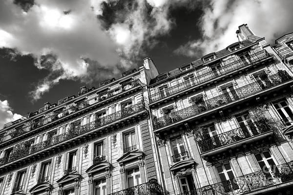 Wall Art - Photograph - Parisian Buildings by Olivier Le Queinec