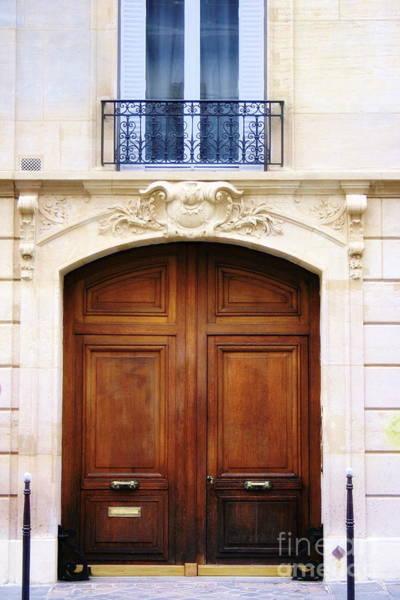 Photograph - Parisian Entryway by Angela Rath