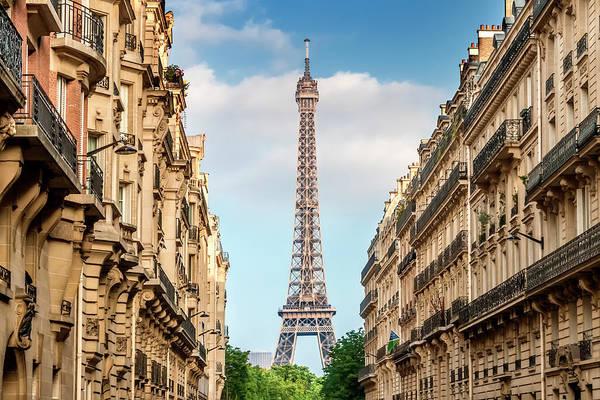 La Tour Eiffel Photograph - Parisian Flair  by Melanie Viola