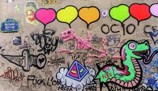 Photograph - Parisian Graffiti by Alexandre Rotenberg