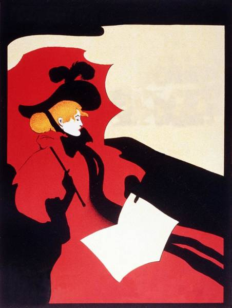 Hat Mixed Media - Parisian Lady In A Red Gown With A Black Hat And Red Umbrella - Vintage Advertising Poster by Studio Grafiikka