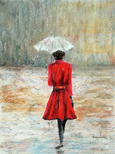 Painting - Parisian Stroll by Tamyra Crossley