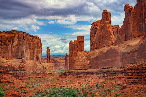 Geologic Formation Photograph - Park Avenue by Rick Berk
