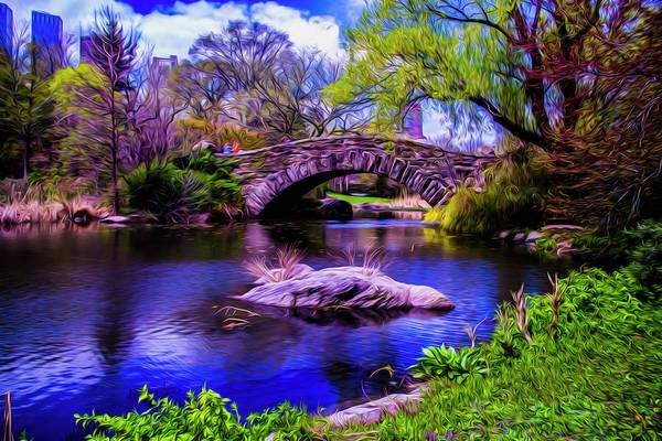 Photograph - Park Bridge by Stuart Manning