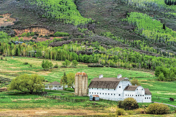 Photograph - Park City Utah Barn by James Udall