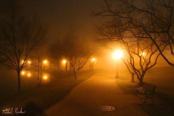 Wall Art - Photograph - Park Fog by Michael Rucker