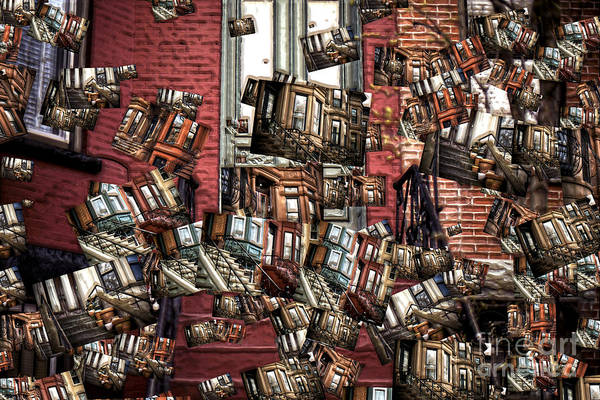 Photograph - Park Slope Brownstones by John Rizzuto