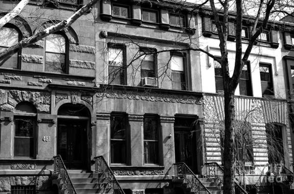 Wall Art - Photograph - Park Slope Houses by John Rizzuto