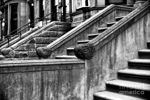 Wall Art - Photograph - Park Slope Stairs by John Rizzuto
