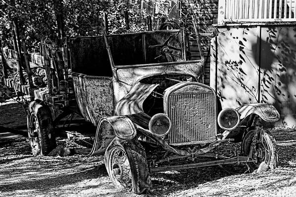 Clunker Wall Art - Photograph - Parked And Retired by Chrystyne Novack
