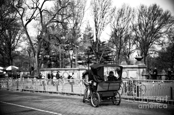 Photograph - Parked Bike Cart by John Rizzuto