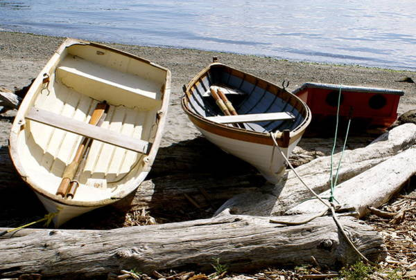 Port Townsend Photograph - Parked Boats by Sonja Anderson