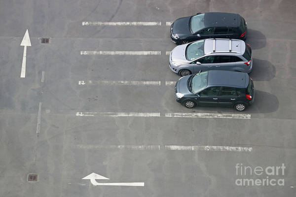 Photograph - Parked Cars by Julia Gavin