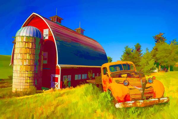 Digital Art - Parked In Front  II by Jon Glaser