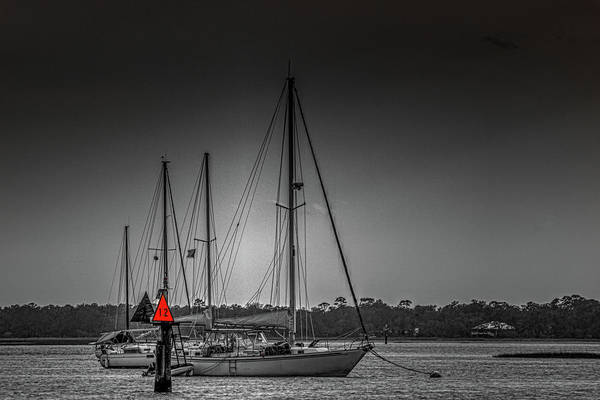 Photograph - Parked - Seaside Scenic by Barry Jones