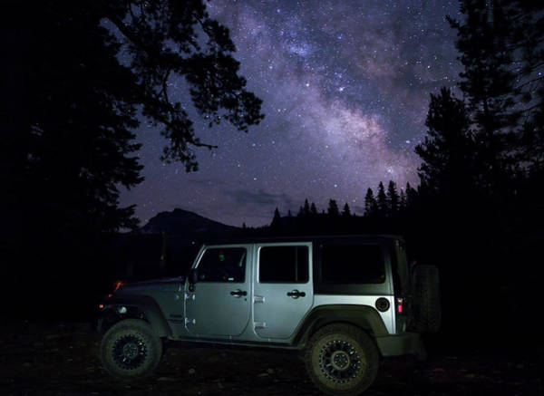 Wall Art - Photograph - Parked Under The Milky Way  by Marnie Patchett