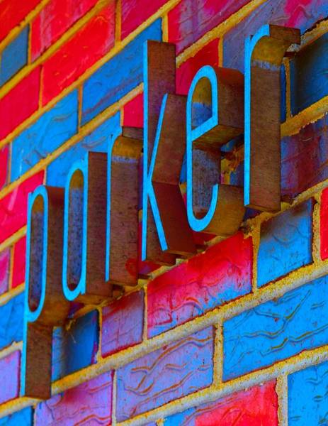 Wall Art - Photograph - Parker Drugs Wall Sign Photoart Version 2 by Timothy Smith