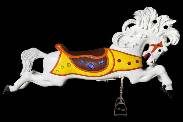 Wall Art - Photograph - Parker Flying Carousel Horse 2 by Kelley King