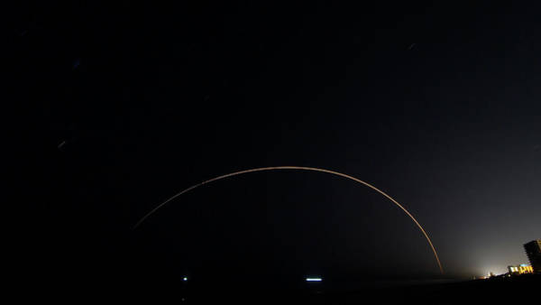 Photograph - Parker Solar Probe Launch by Paul Rebmann