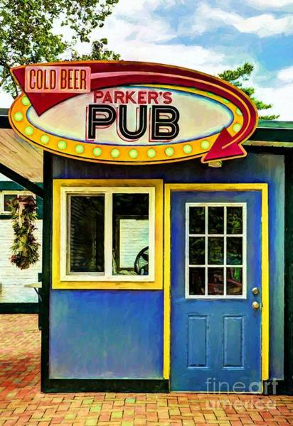 Photograph - Parker's Pub by Mel Steinhauer