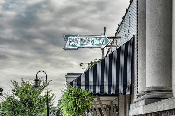 Photograph - Parking In Ashland by Sharon Popek