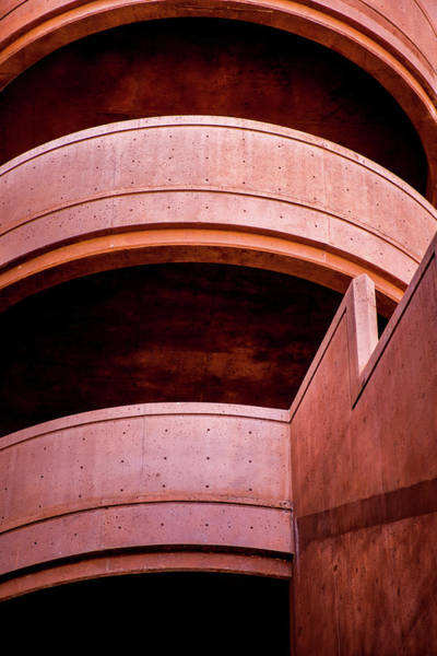 Photograph - Parking Ramp Abstract by Onyonet  Photo Studios