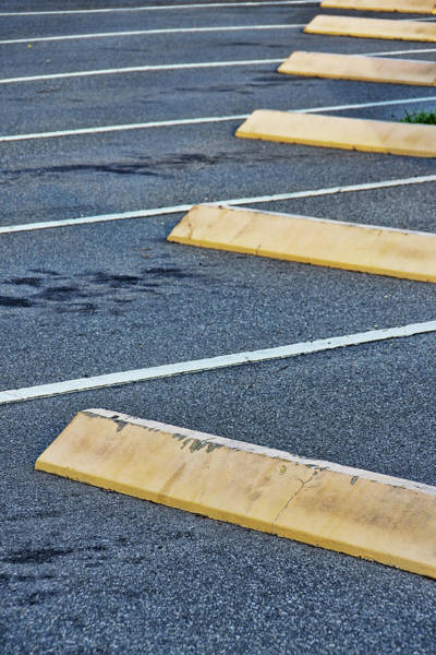 Wall Art - Photograph - Parking Spaces by Richard Rizzo