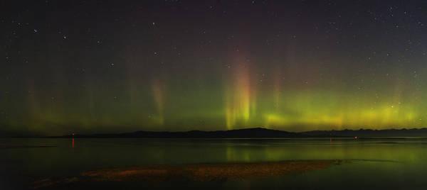 Photograph - Parksville Bay Aurora by Randy Hall
