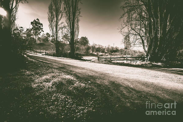 Dreary Photograph - Parkway Drive by Jorgo Photography - Wall Art Gallery