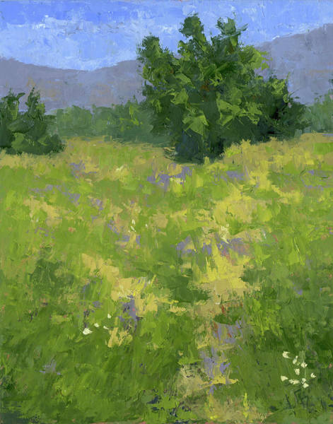 Painting - Parkway Spring Oil by David King