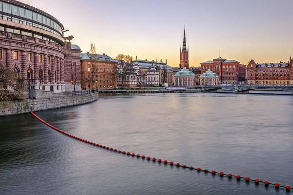 Wall Art - Photograph - Parliament Building - Stockholm by Joana Kruse