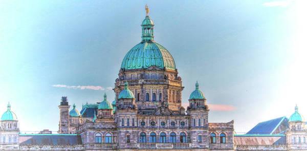 Photograph - Parliament Building Victoria, British Columbia, Canada  by Ola Allen