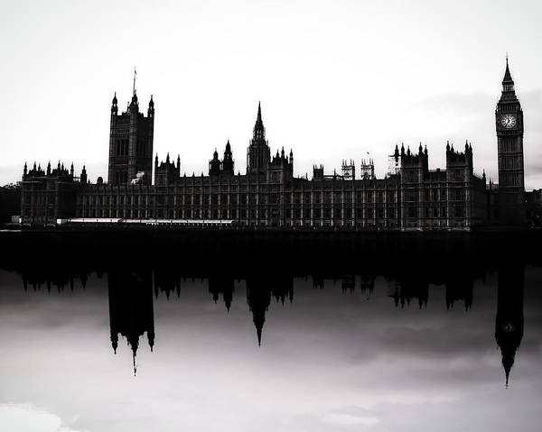 Westminster Bridge Photograph - Parliament by Martin Newman