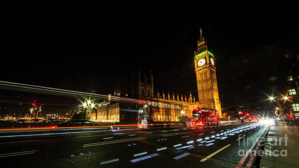 Wall Art - Photograph - Parliament Nights   by Rob Hawkins