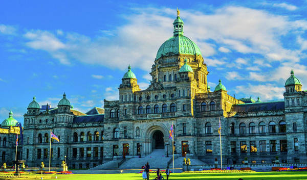 Photograph - Parliament Victoria Bc by Jason Brooks