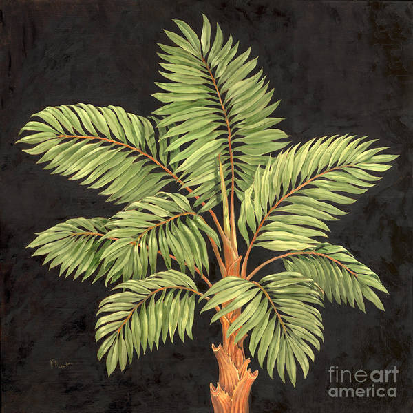 Vegetation Painting - Parlor Palm I by Paul Brent