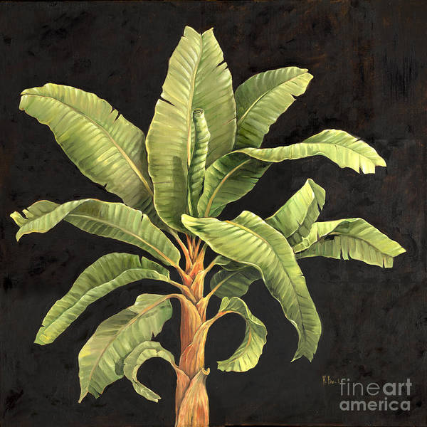 Vegetation Painting - Parlor Palm II by Paul Brent