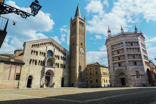 Photograph - Parma, Italy Main Piazza by Alexandre Rotenberg