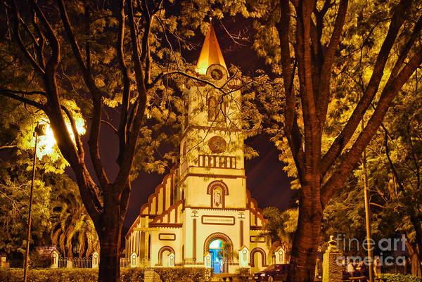 Photograph - Paroquia Santana De Abranches - Curitiba - Brazil by Carlos Alkmin