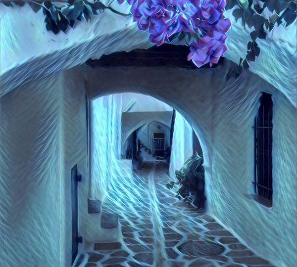 Photograph - Paros Island Beauty by Colette V Hera Guggenheim