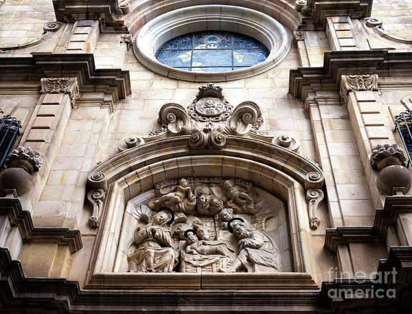 Photograph - Parroquia De La Mare De Deu De Betlem In Barcelona by John Rizzuto