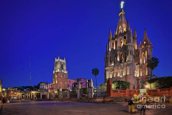 Photograph - Parroquia De San Miguel Arcangel In San Miguel De Allende, Mexico by Sam Antonio Photography