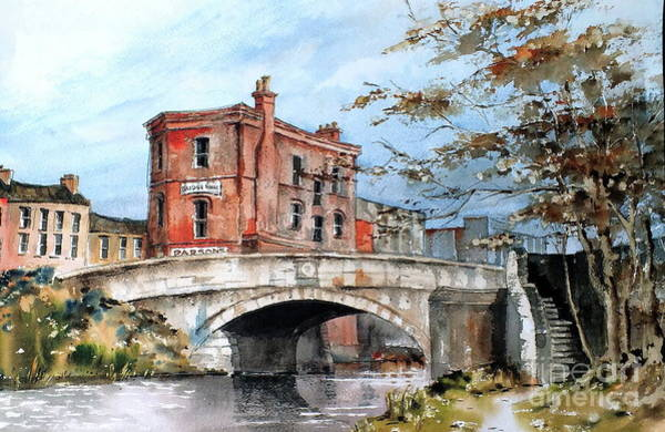 Painting - Parsons Bookshop, Dublin by Val Byrne