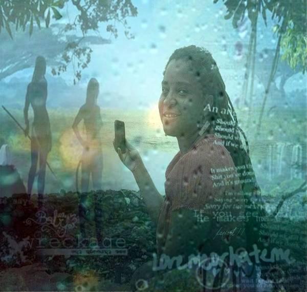 Time Traveler Mixed Media - Part Avatar by Fania Simon