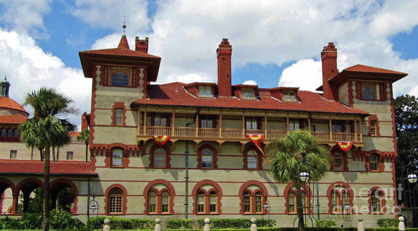 Photograph - Part Of Flagler College by D Hackett